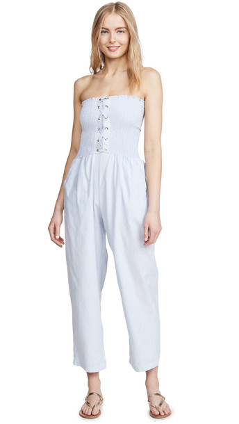 Peixoto Bondie Jumpsuit in blue