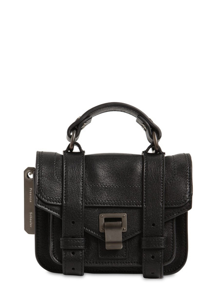 PROENZA SCHOULER Ps1 Micro Lux Leather Bag in black
