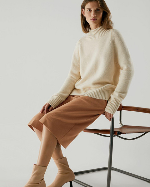 sweater shorts shoes