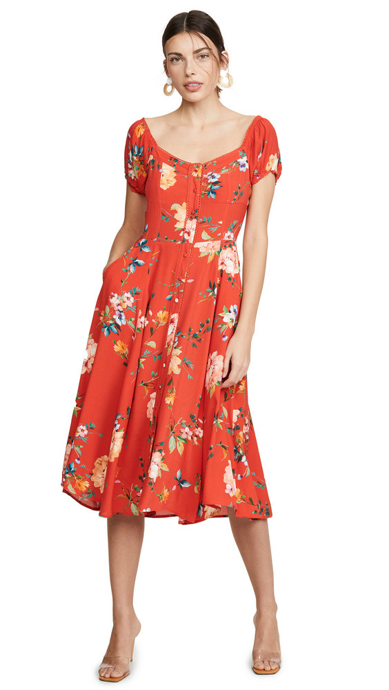Yumi Kim Mercer Street Dress in red