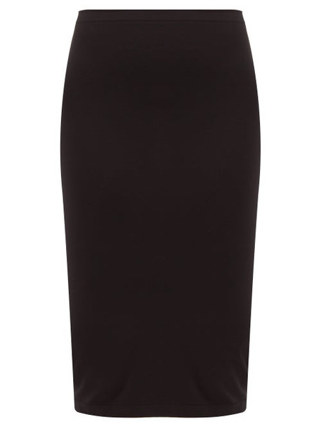 Wolford - Fatal Midi Skirt - Womens - Black