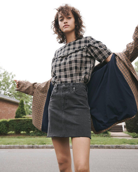 top skirt jacket