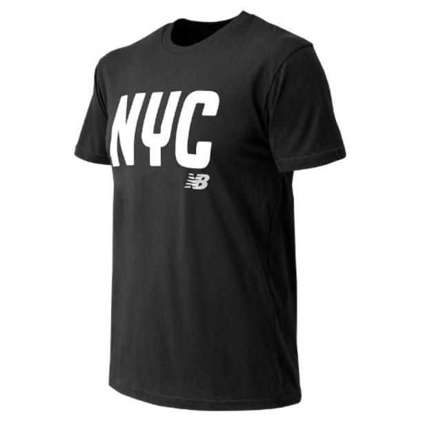 New Balance 63581 Men's NYC City Tee - Black (MT63581BK)