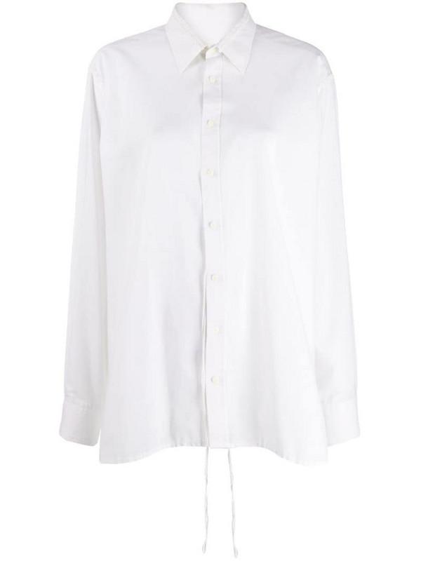Maison Martin Margiela Pre-Owned sequin trim shirt in white