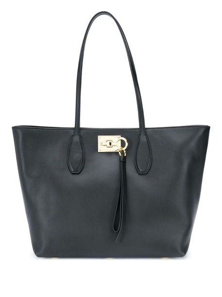 Salvatore Ferragamo Studio tote bag in black