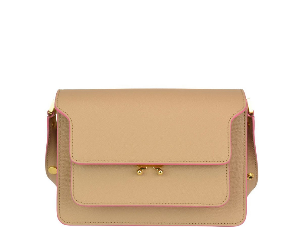 Marni Medium Trunk Bag in pink