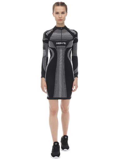 MISBHV Active Techno Jersey Sport Dress in black / white