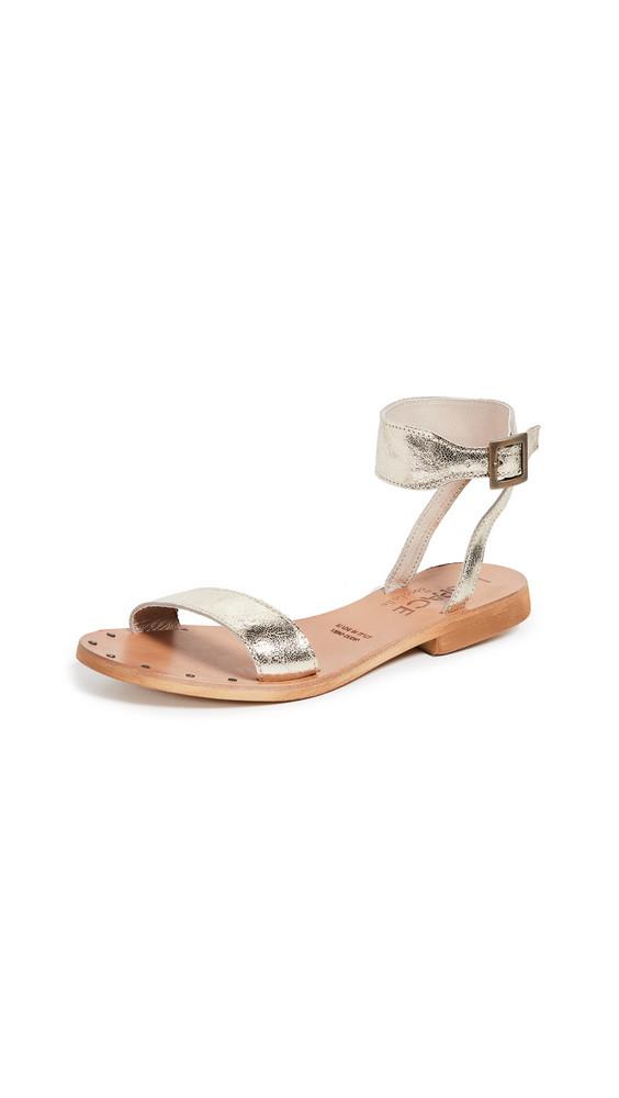 Cocobelle x L*Space Hanalei Sandals in gold