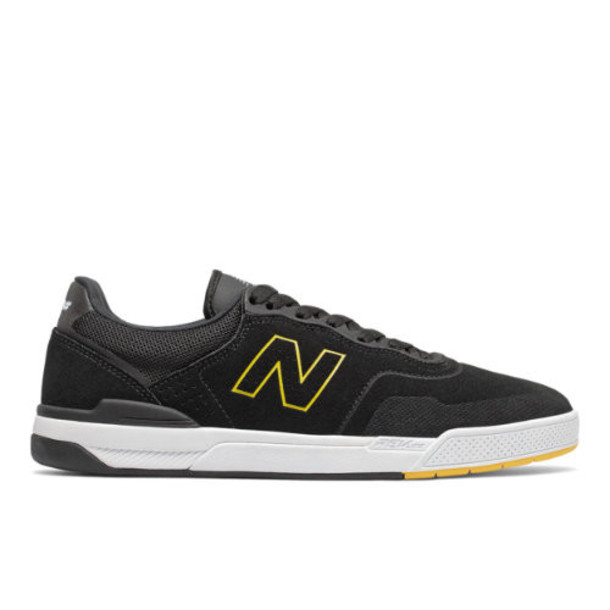 New Balance Numeric 913 Pro Model Men's Numeric Shoes - Black/Yellow (NM913BEE)