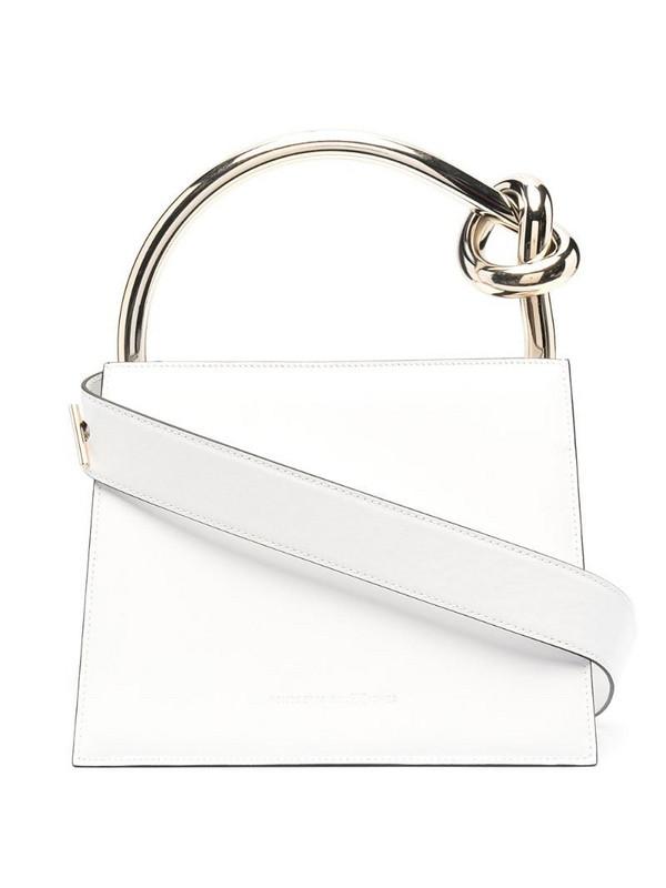 Benedetta Bruzziches ring handle tote bag in white