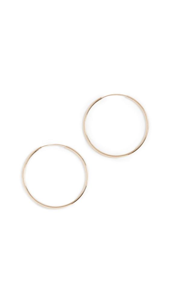 Loren Stewart 14k Winona Hoop Earrings in gold / yellow