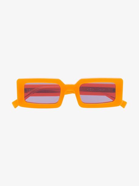 Chimi orange neon hazard sunglasses