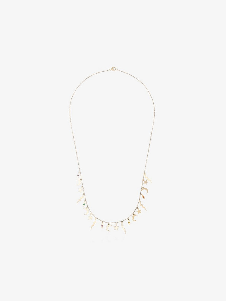 Andrea Fohrman Element sapphire necklace in gold