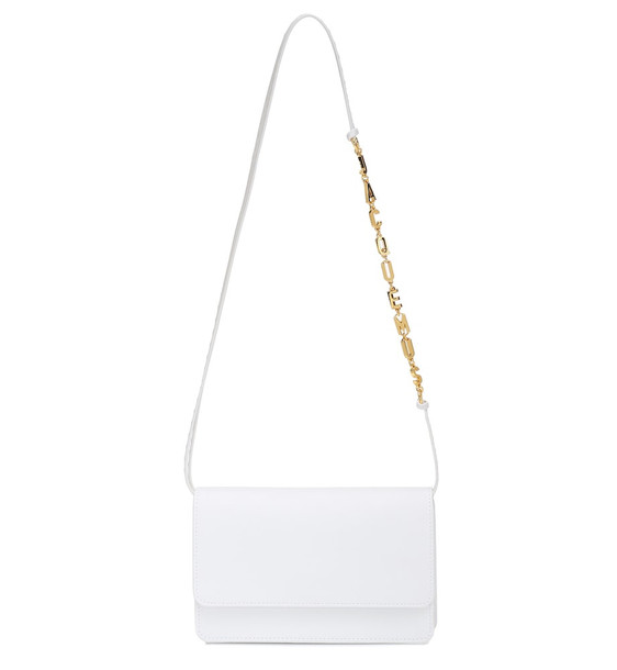 Jacquemus Le Sac Riviera Small shoulder bag in white