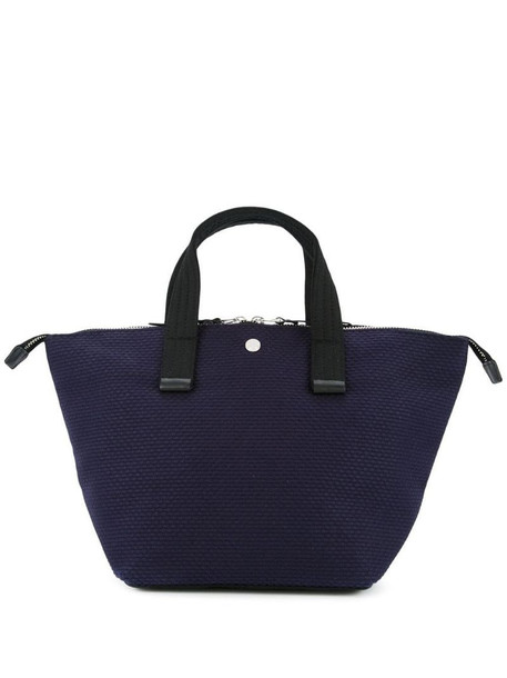 Cabas Bowler small tote bag in blue