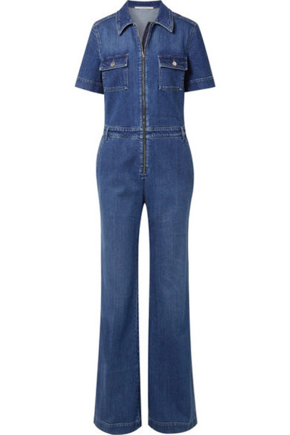 Stella McCartney - Denim Jumpsuit - Blue