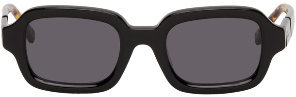 BONNIE CLYDE Black & Tortoiseshell Shy Guy Sunglasses