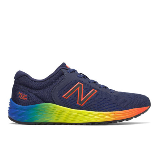 New Balance Arishi v2 Kids Grade School Running Shoes - Navy/White (YPARIFP2)