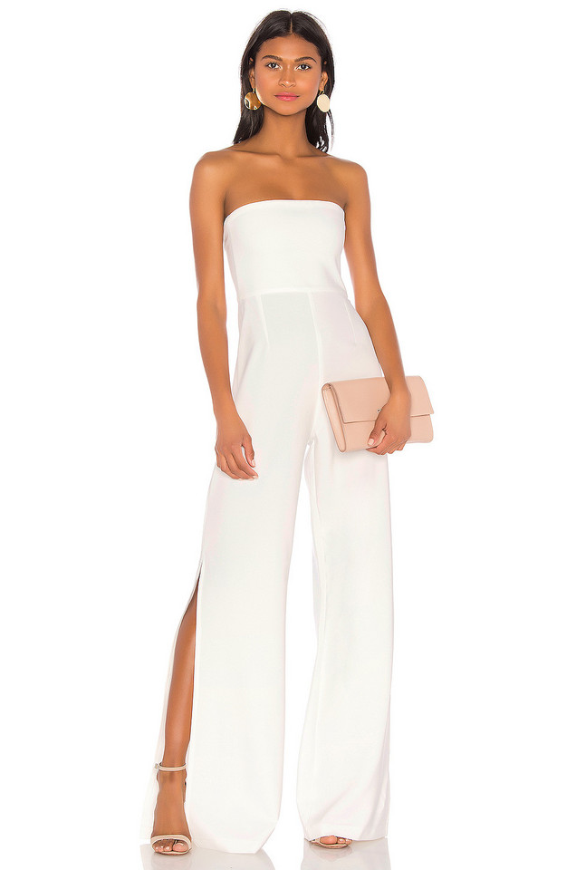 Nookie Glamour Jumpsuit in white