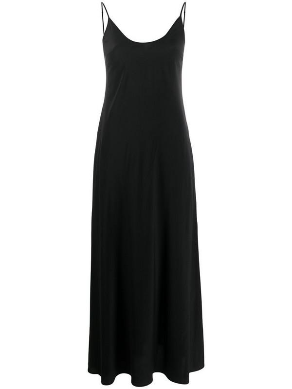 Federica Tosi long slip dress in black