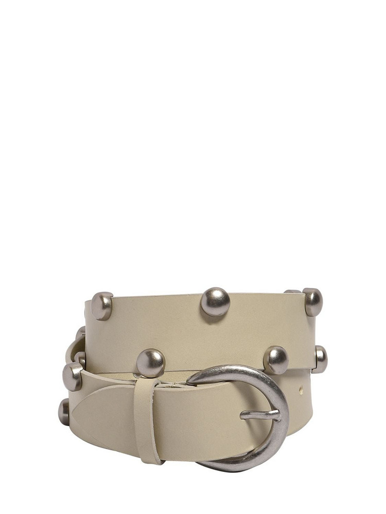 ISABEL MARANT 40mm Goby Leather Belt