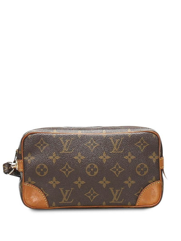 Louis Vuitton 1986 Marly Dragonne PM pouch in brown