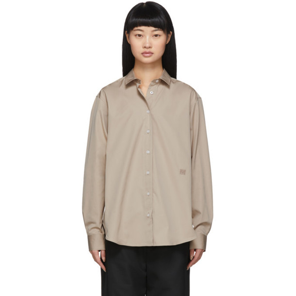 Toteme Tan Capri Shirt