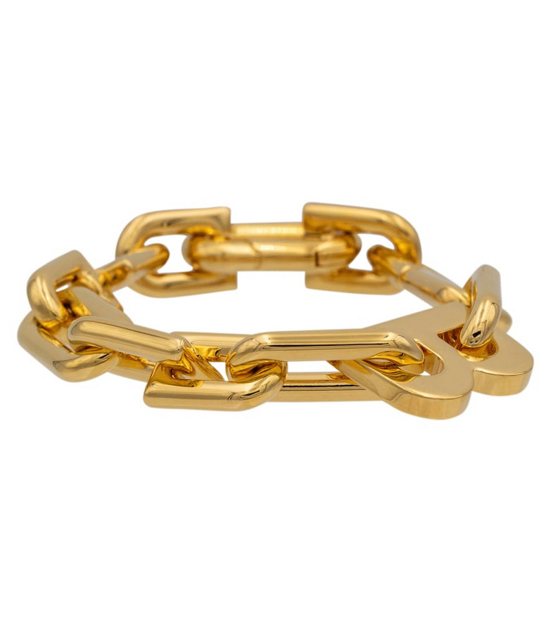 Balenciaga B Chain bracelet in gold