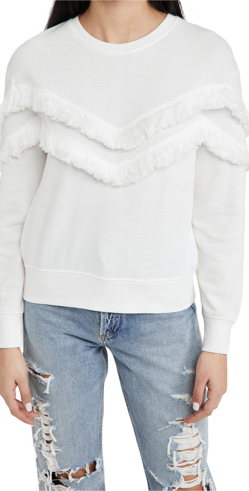 RAILS Kinsey Sweater in white