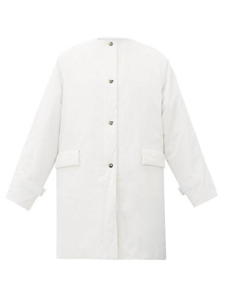 Kassl Editions - Oil Padded Cotton-blend Coat - Womens - White