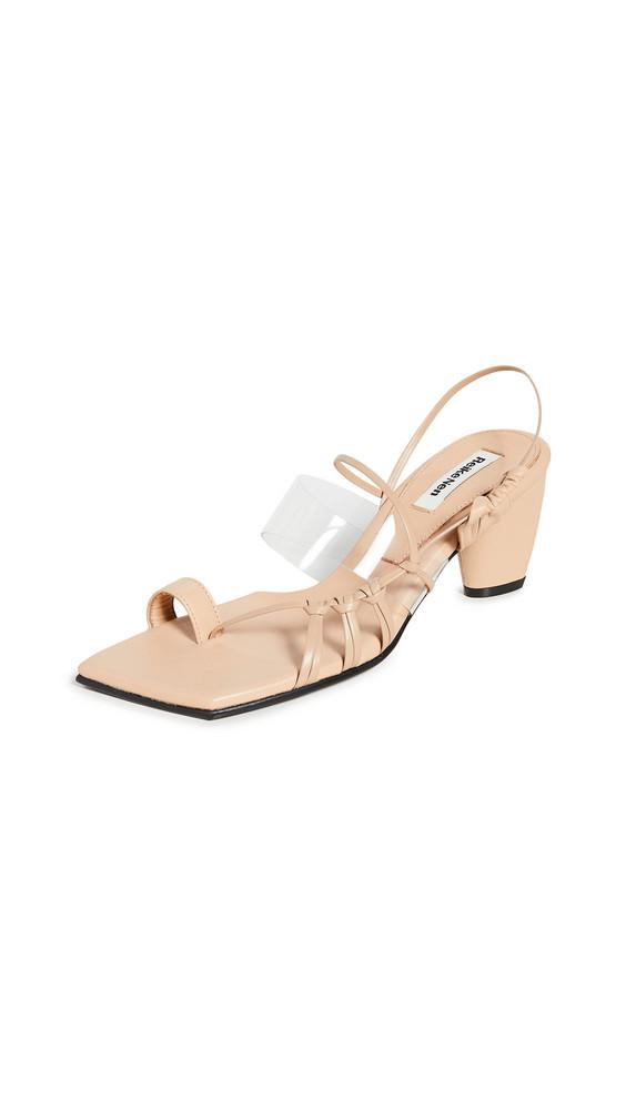 Reike Nen Side Knot Strap Sandals in beige