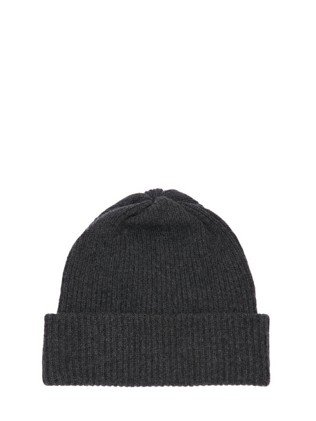 MAX MARA Rotondo Cashmere Beanie Hat in grey