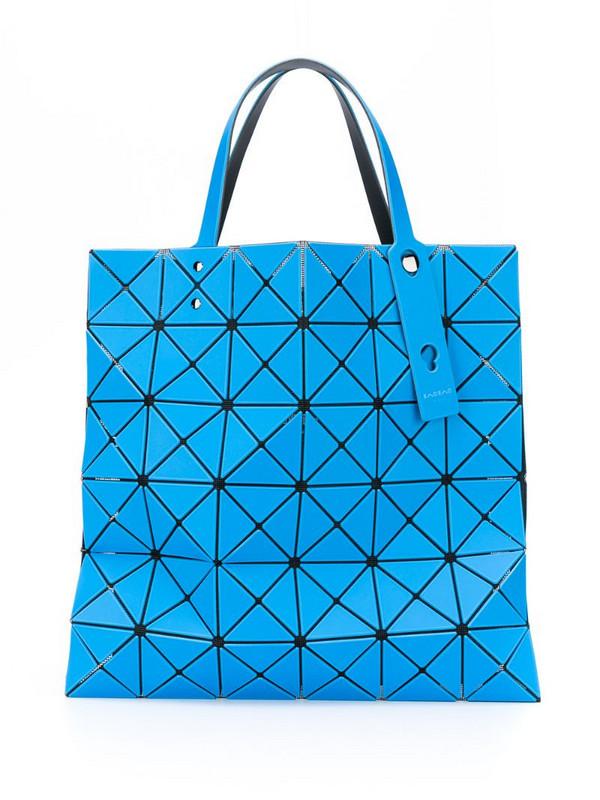 Issey Miyake prism tote bag in blue
