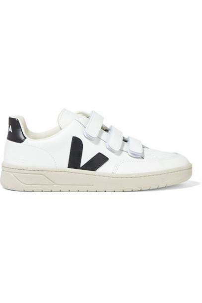 Veja - V-lock Leather Sneakers - White