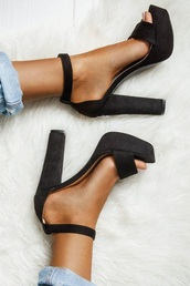 shoes,black high heels