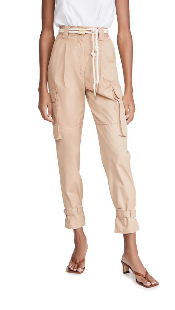 Aje Liberation Utility Trousers in camel
