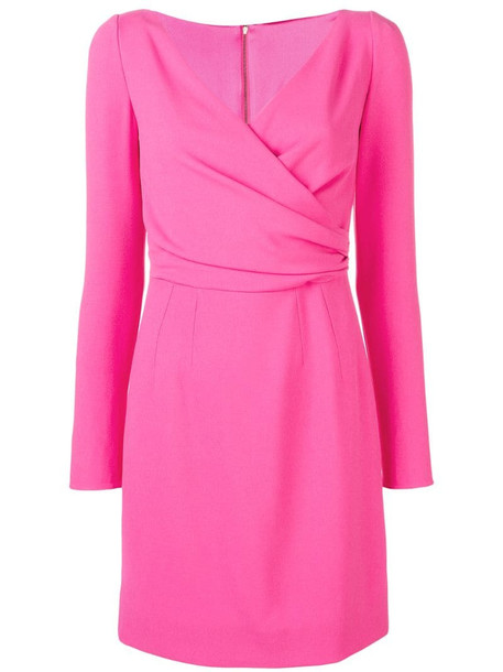 Dolce & Gabbana fitted mini dress in pink