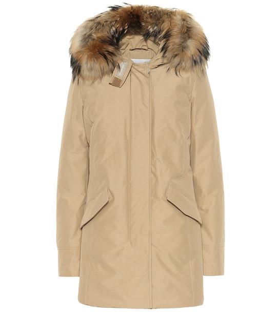 Woolrich W'S Arctic FR down parka in beige