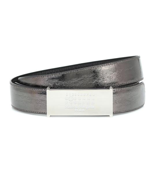 Maison Margiela Leather belt in black