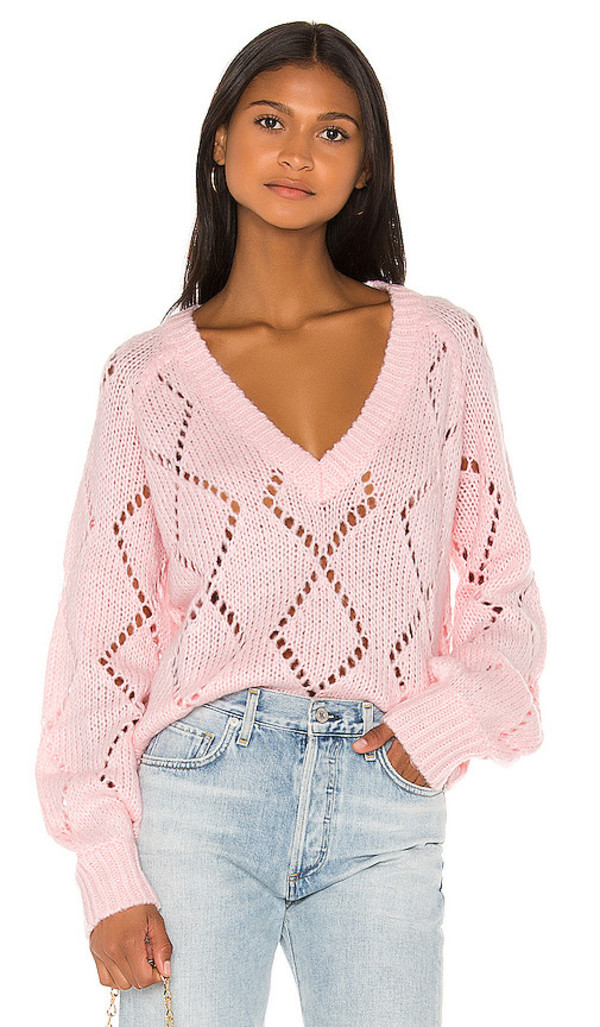 Lovers + Friends Lovers + Friends Monika Sweater in Pink