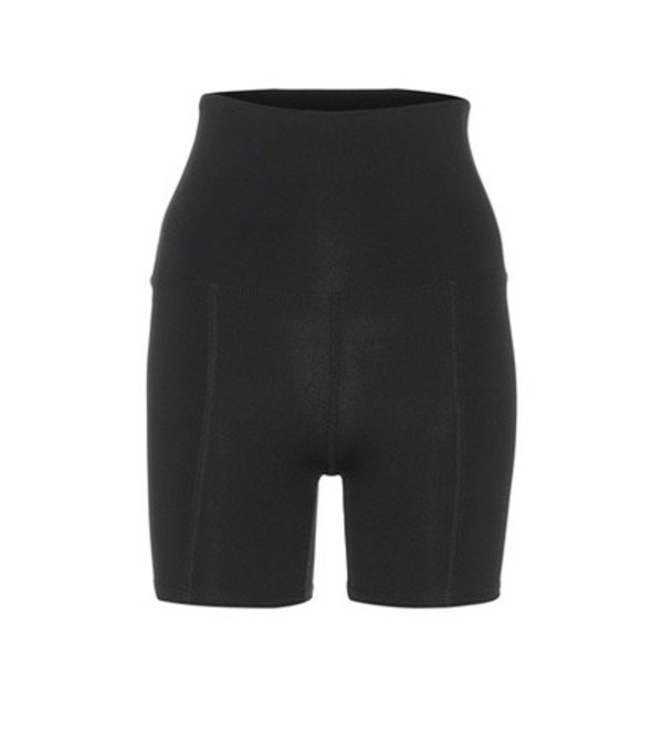 Live The Process Geometric shorts in black