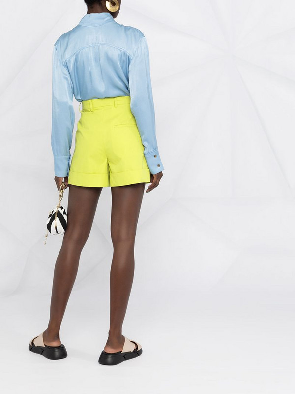 Sofie D'hoore high-waisted shorts in green