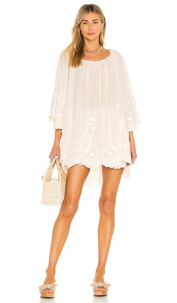Mes Demoiselles Radieuse Tunic in Cream in pink