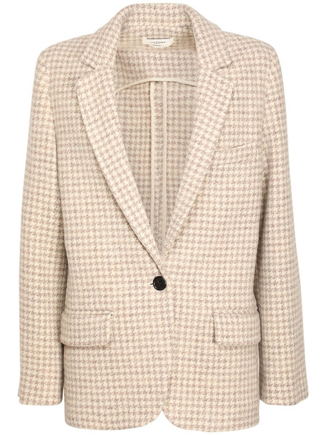 ISABEL MARANT ÉTOILE Charly Wool Single Breast Jacket in beige