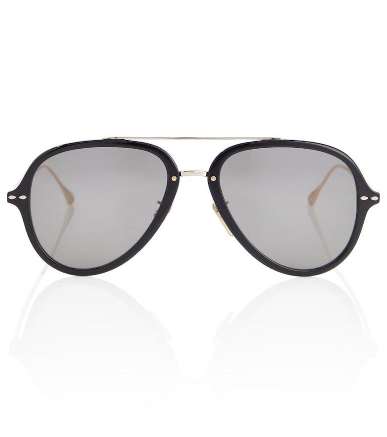 Isabel Marant Aviator sunglasses in black