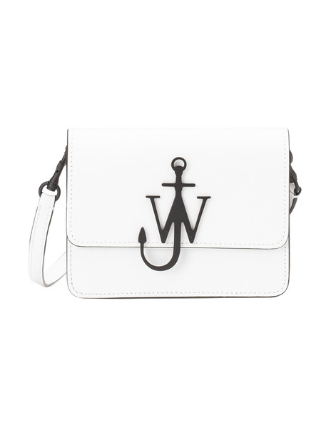 J.W. Anderson Jw Anderson Logo Shoulder Bag in white