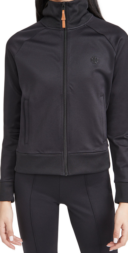 Tory Sport Track Jacket in black