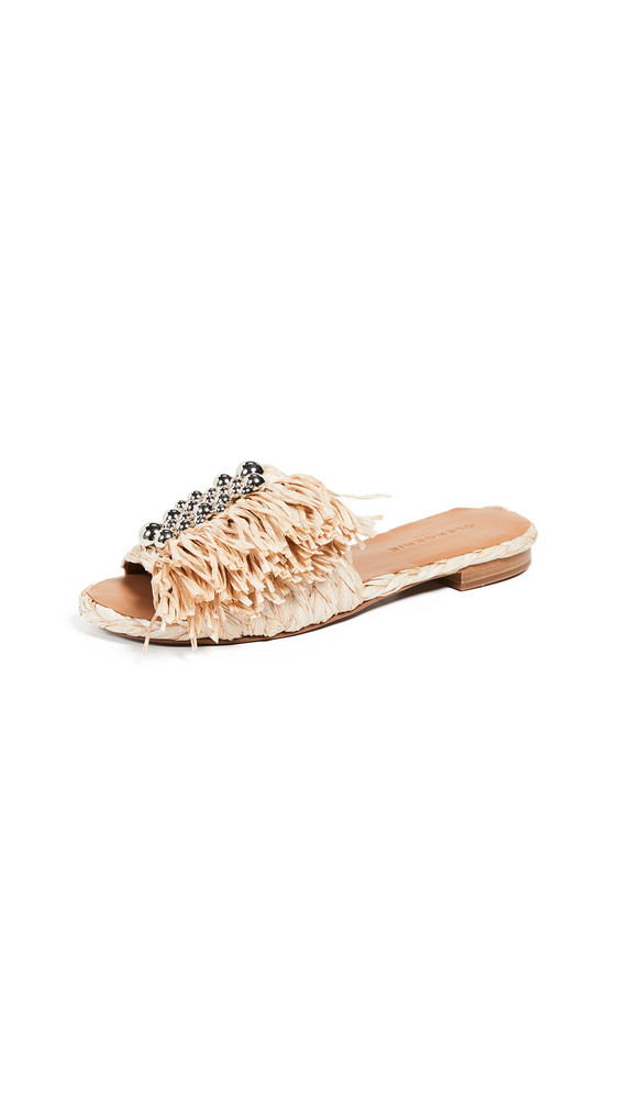 Clergerie Amazing Slide Sandals in natural