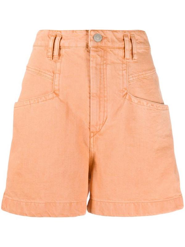 Isabel Marant Esquia shorts in orange