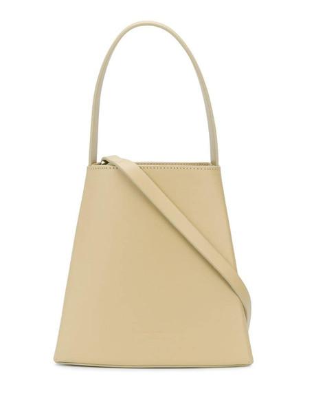 Low Classic triangle tote bag in neutrals